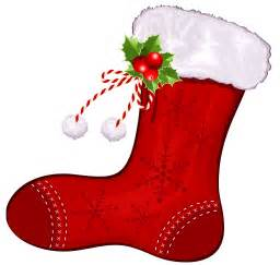 Large transparent christmas red stocking png clipart png