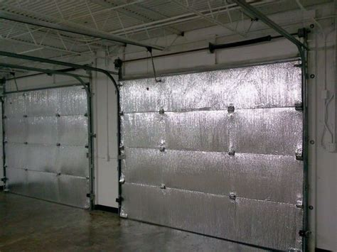 Garage Door Radiant Barrier 25 Best Garage Door Insulation Ideas On Diy