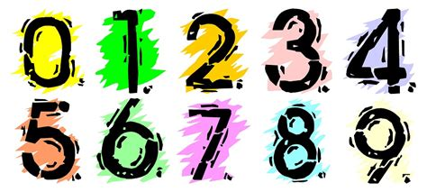 clipart numeri free illustration numbers numbering school free