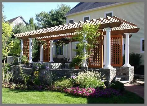 pergola house quot pergolas quot and garden layout building a nest for a