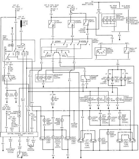 93 toyota blower motor wiring diagram 93 free
