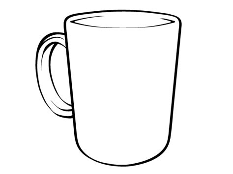 cup template 20 mug template vector images free vector coffee cup