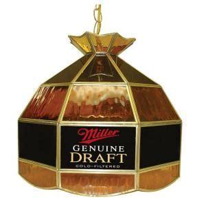 Trademark Global Miller Genuine Draft 16 in. Gold Hanging