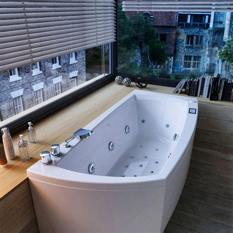 vasca idromassaggio glass linea collezione di vasche rettangolari angolari ed