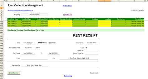 rent receipt spreadsheet template archives filemillionaire