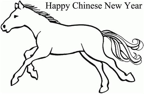 coloring pages for new years 2014 printable colouring sheets 2014 wooden horse chinese new