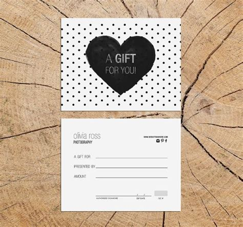 Best 25 Gift Certificate Templates Ideas On Pinterest Gift Certificates Free Gift Diy Gift Certificate Template