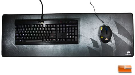 Mouse And Keyboard Mat by Corsair Gaming Mm300 Anti Fray Cloth Mouse Mat Extended