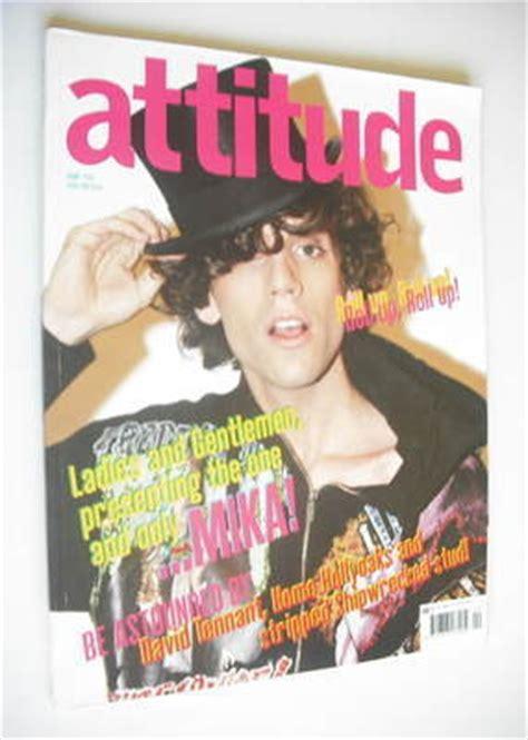 film mika cover attitude magazine mika cover april 2007