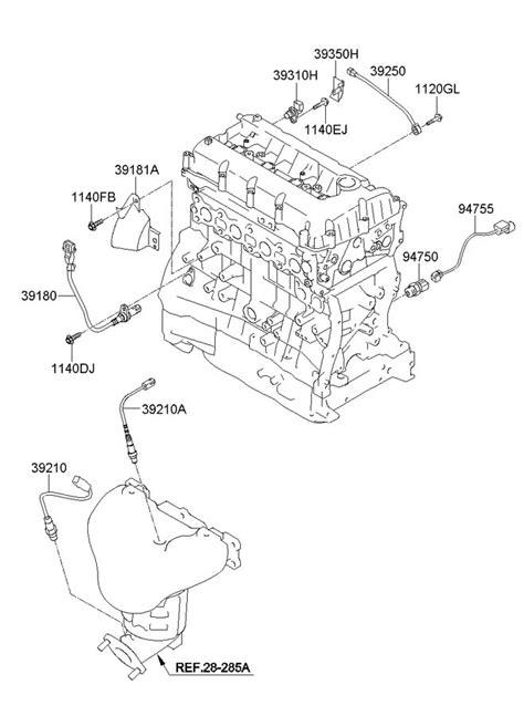 Crankshaft sensor location? - Hyundai Forums : Hyundai Forum