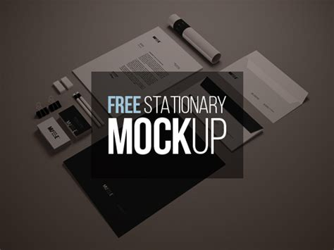 graphic design mockup templates free stationary mockup template psd smart object