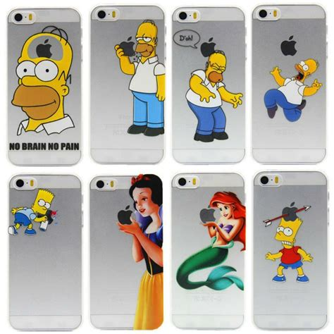 fundas iphone 4 4s 2 fundas para iphone 4 4s homero princesas mario brosy