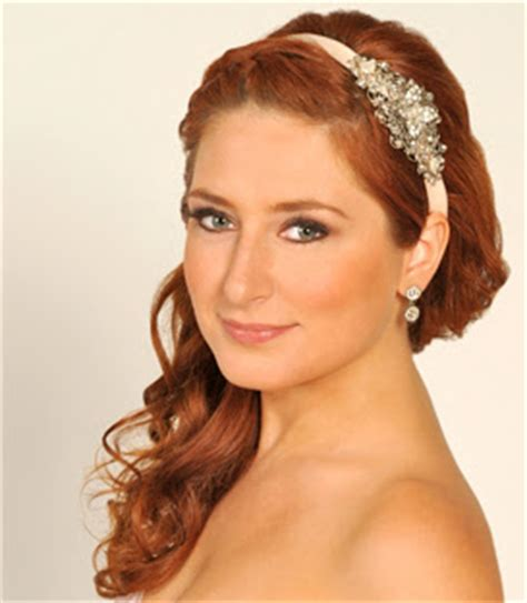 Wedding Hairstyles With Headbands And Veils by Bridal Hairstyles With Headbands For Hiar With Veil