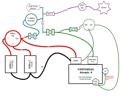 1 wire alternator wiring diagram for ammeter get free image about wiring diagram