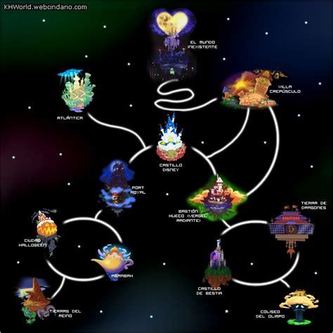 kingdom hearts world map theme villalobos lxxii kingdom hearts dia 5 1 de 202 en
