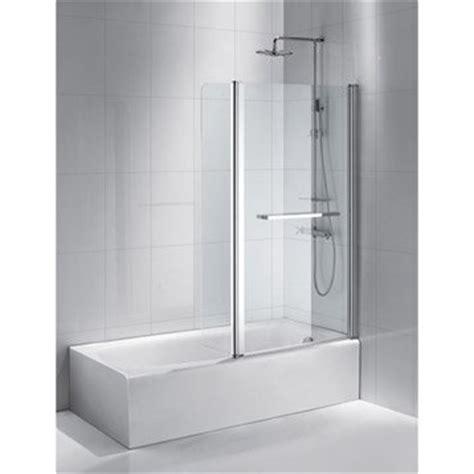 paroi de baignoire en verre paroi baignoire verre sur