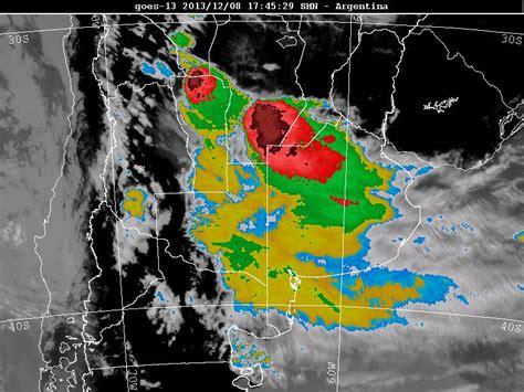 Imagenes Satelitales Tormentas Argentina | topes nubosos e imagenes satelitales