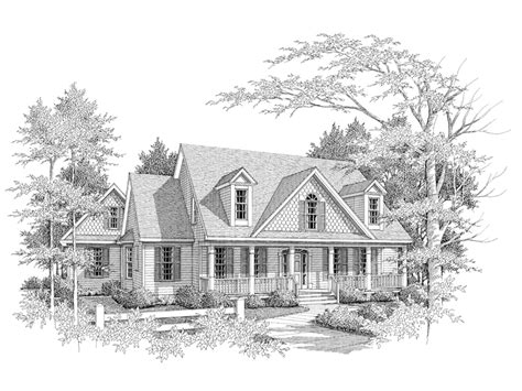 moss creek country home plan 076d 0076 house plans and more