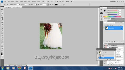 tutorial photoshop indonesia cs4 tutorial meng crop image di photoshop cs4 tettytanoyo