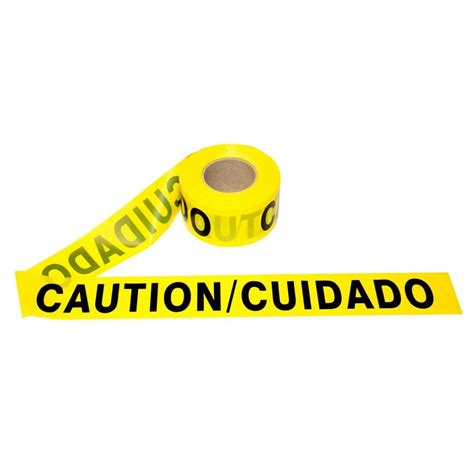 Baricade Line 3 X 300m empire 3 in x 500 ft reinforced caution 76 0600