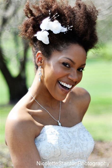 Wedding Hairstyles Natural Afro Hair | african american wedding hairstyles life n fashion