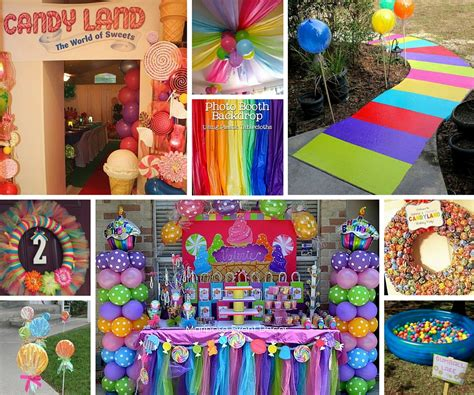candyland decor maisie s 1st birthday pinterest