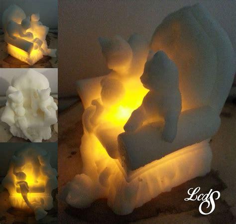 candela di cera candela in cera con led poltronagattini per la casa e