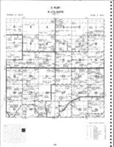Ruby Township - South, Colburn Township - North, Atlas
