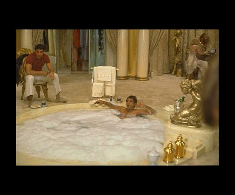 scarface bathtub scene fancy f bombs 10 memorable bathtub moments popsugar beauty