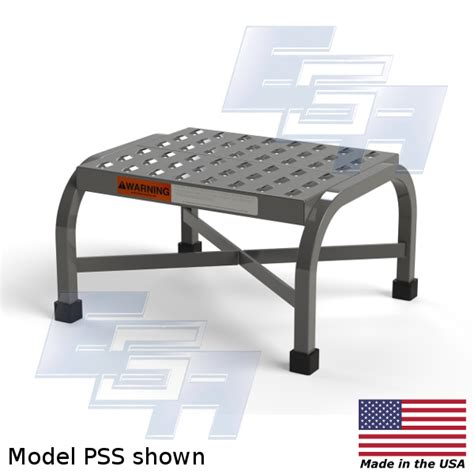 Step Stool Made In Usa by Steel Step Stool S Pss Rss Series