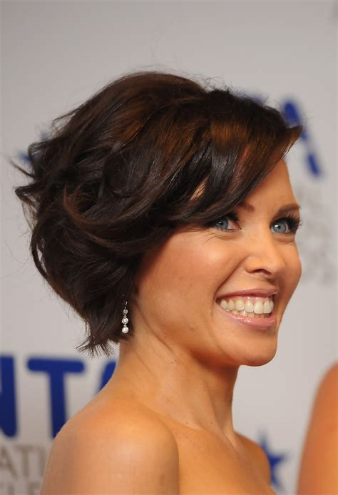 what style i got a bob that looks like triangle dannii minogue curled out bob dannii minogue looks