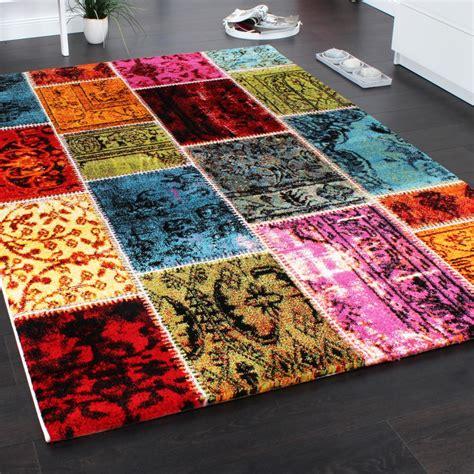 Patchwork Designer - teppich modern designer teppich patchwork vintage