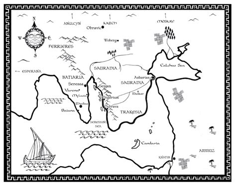 Pdf Children Earth Sky Gavriel by Map For Quot Children Of Earth And Sky Quot By Gavriel