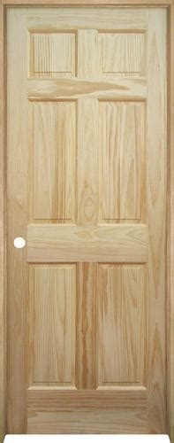 Mastercraft Pine 6 Panel Prehung Interior Door At Menards 174 Menards Interior Doors