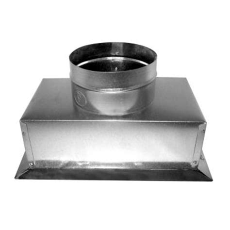 10 X 4 X 4 Box - 4 quot x 10 quot x 4 quot r6 insulated ceiling box with flange