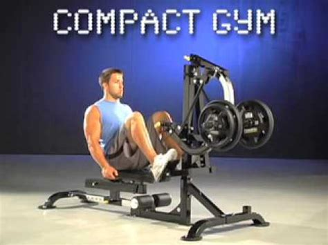 powertec compact l cg13 for free weight and leverag