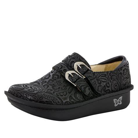 alegria shoes alegria alli black embossed paisley alegria shoes