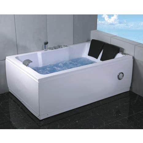 vasco da bagno vasca idromassaggio 185x120cm cromoterapia per 2 persone pr