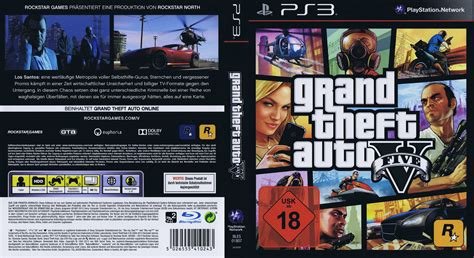 Grand Theft Auto V Ps3 by Xrlgames Hd Cover Scans Ps3 Xbox360