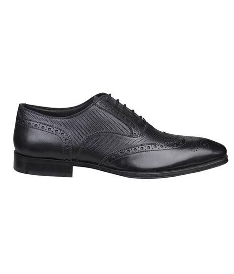 bata oxford shoes buy bata ambassador black perforated oxford shoes for