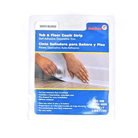 Bathtub Caulking Strips by Self Adhesive Tub And Floor Caulk Ebay