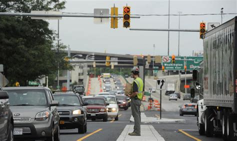 design that works with traffic the horseshoe or u shaped baltimore traffic to ease as russell street work wraps up