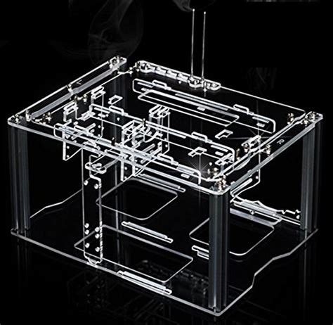acrylic test bench myopenpc bench spring transparent clear acrylic test bench