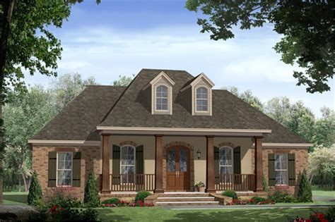 french country house plans square feet with front porch acadian house plan 141 1267 3 bedrm 1888 sq ft home