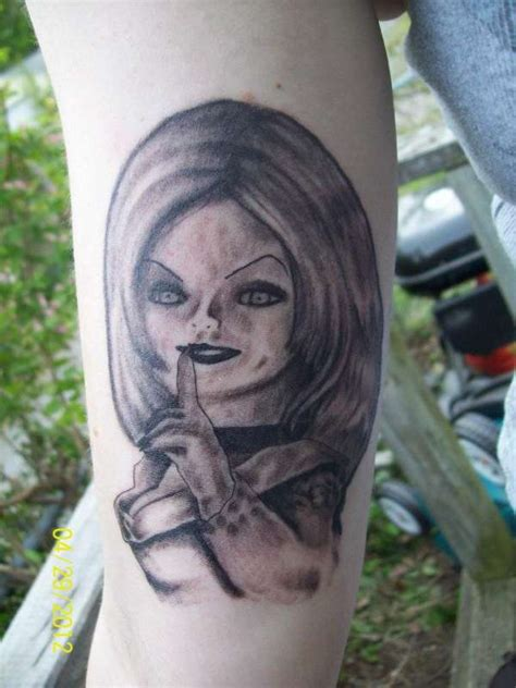bride of chucky tattoo 20 best chucky images and designs