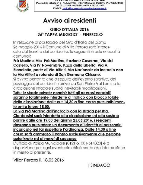 comune pinerolo ufficio tributi giro d italia 18 176 tappa muggio pinerolo