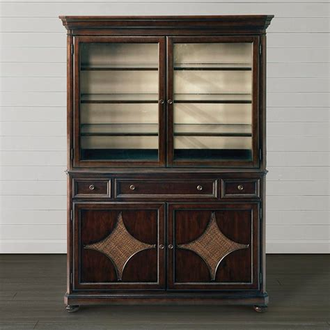 grove park sideboard by bassett sale 1 399 mission moultrie park china cabinet by bassett furniture