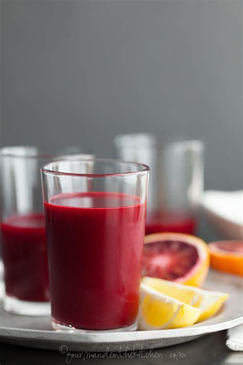 The Juice Kitchen by Rejuvenating Root Juice Carrot Beet Blood Orange