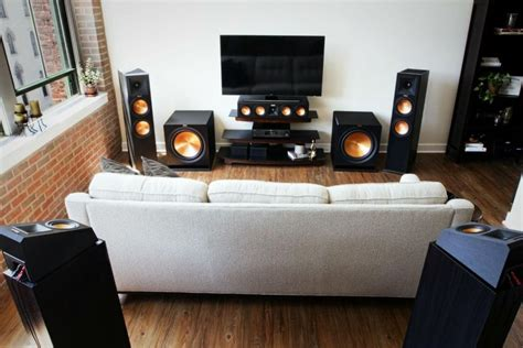 speaker placement   home theater