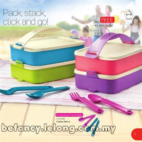 Tupperware Click To Go Ctg Rantang tupperware click to go and cutlery s end 9 27 2018 3 09 pm